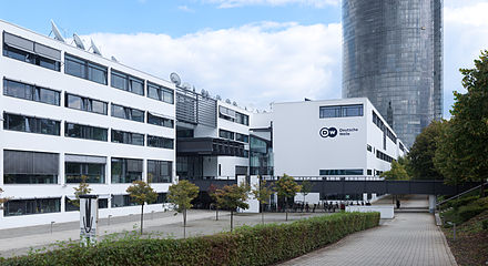 Deutsche Welle headquarters in Bonn (centre). Deutsche Welle.jpg
