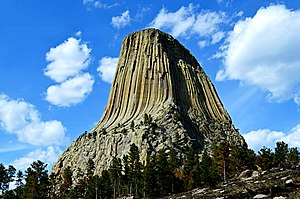 National Monument (United States) - Devils Tower National Monument, Wyoming