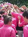 Diada castellera festes de primavera 2014 a Sant Feliu de Llobregat P1480220.jpg