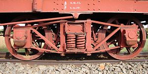 South African type XF1 tender - Diamond Frame bogie