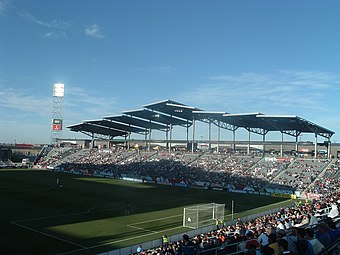 Dick's Sporting Goods Park, home of the Colorado Rapids Dick's Park.jpg