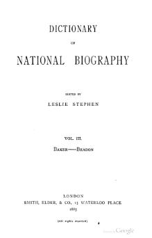 Dictionary of National Biography volume 03.djvu
