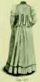 Die Frau als Hausärztin (1911) 124 Praktisches Straßenkleid Rückansicht.png
