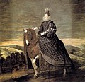 Diego Velázquez - Queen Margarita on Horseback - WGA24409.jpg