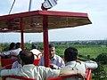 Dignitaries Riding Ropeway - Science City - Kolkata 2006-07-04 5220022.JPG