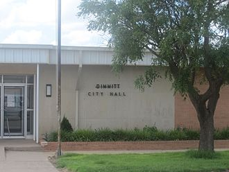 Dimmitt, Texas - Dimmitt City Hall (2010)