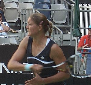 Dinara Safina - Safina at the 2006 Australian Open