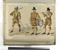 Dinastia austriaca Siglo XVI (Año 1560). Arcabucero; Atambor; Pifaro (NYPL b14896507-87465).tiff