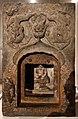 Dinastia tang, sezoione di una padoga buddista, con nicchia votiva, 724, 01.jpg