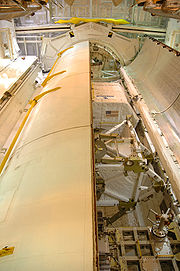 Discovery Payload Bay STS-116