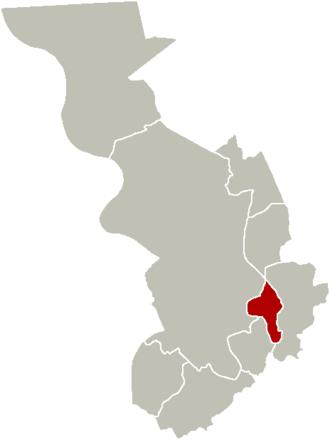 Borgerhout - Image: District Borgerhout Location
