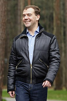 Dmitry Medvedev 13 December 2008
