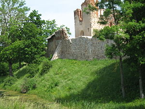 Dobele Castle - Image: Dobelpilis 2
