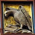 Doberan Münster - Kreuzaltar Marienseite Kreuz 8 Adler.jpg
