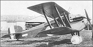 Sopwith Dolphin - Third prototype at Brooklands Airfield