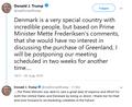 Donald Trump 2019-08-20 1651 tweet on Denmark's Greenland deal denial.png