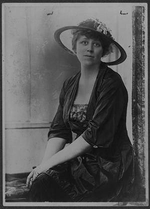 Doris Stevens - Doris Stevens, 1919 Legislative Chairman, National Woman's Party