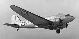 12th Airborne Command and Control Squadron - Douglas C-47