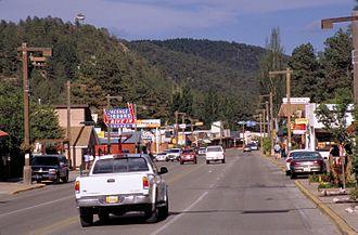 Ruidoso, New Mexico - Downtown Ruidoso (2006)