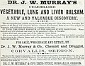 Dr J W Murray's Vegetable, Lung and Liver Balsam (1867) (ADVERT 139).jpeg
