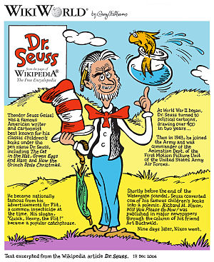 Dr. Seuss cartoon
