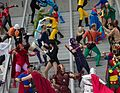 Dragon Con 2013 - JLA vs Avengers Shoot (9672397806).jpg