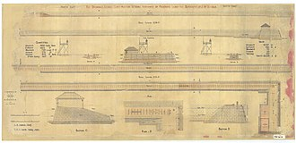 St Helena Island National Park - Plans for the prison, 1868