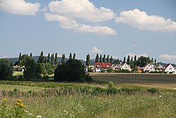 Drazice village from countryroad in summer 2011 (2).JPG