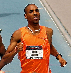 Duane Solomon - Duane Solomon at the 2010 USA Outdoor Track and Field Championships