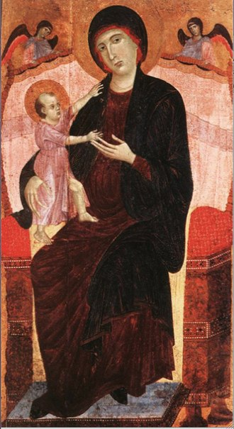 "Riccardo Gualino - The ""Gualino Madonna"" by Duccio, from Gualino's art collection"
