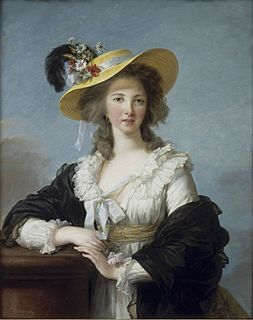Yolande de Polastron Governess of the Children of France, 1782-1789