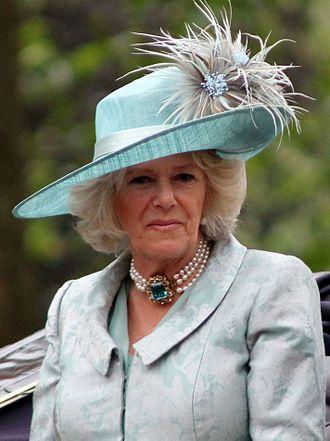 Philip Treacy - Camilla, Duchess of Cornwall wearing a Treacy hat in June 2012
