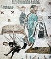 Duke Eric saves Saint Bridget's mother, Johannes Rosenrod 1437.jpg