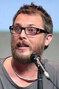 Duncan Jones vid San Diego Comic Con 2015.