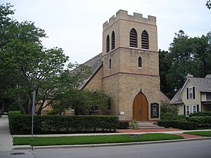 St. James Episcopal Church. Dundee Township Hi...
