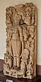 Durga - Mediaeval Period - Manasi Ganga - ACCN 87-4 - Government Museum - Mathura 2013-02-23 5089.JPG