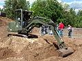 Dutch Army small excavator.JPG