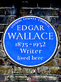 EDGAR WALLACE 1875-1932 Writer lived here.jpg