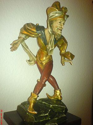 Munich Stadtmuseum - Morris dancer by Erasmus Grasser