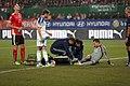 EM-Qualifikationsspiel Österreich-Russland 2014-11-15 050 Igor Akinfeev Marc Janko.jpg