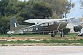 ES 321 Cessna U-17B Bird Dog preserved as a gate guard at Megara.jpg