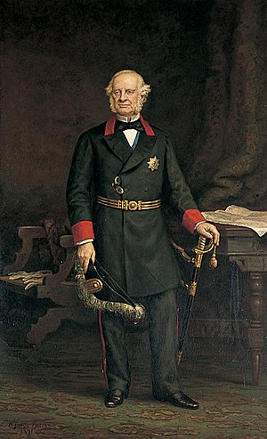 Granville Leveson-Gower, 2nd Earl Granville - Earl Granville (1815–1891), Lord Warden of the Cinque Ports by Henry Jamyn Brooks (1891)