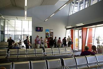 East Kimberley Regional Airport - East Kimberly Regional Airport (Kununurra) departure lounge.