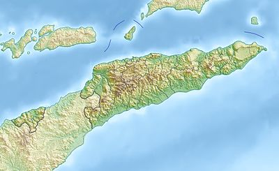 Location map East Timor