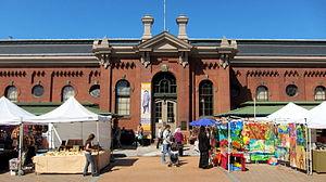 Eastern Market, Washington, D.C. - Image: Eastern Market facade