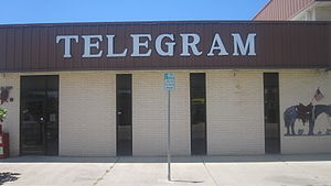 Eastland County, Texas - Eastland Telegram newspaper serves Eastland County.