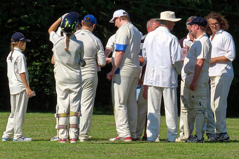 File:Eastons CC v. Chappel and Wakes Colne CC at Little Easton, Essex, England 18.jpg