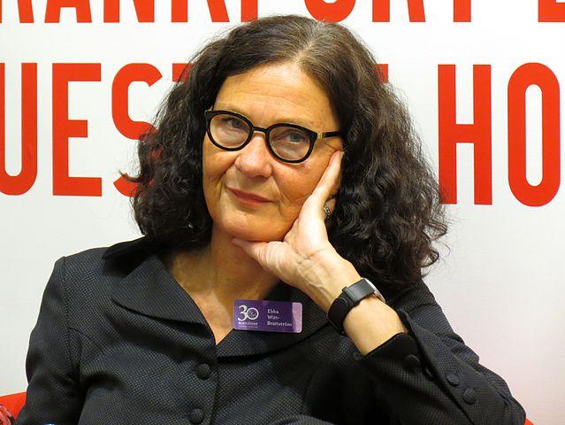 Ebba Witt-Brattström på Bokmässan 2014.. Foto: Vogler, Wikipedia