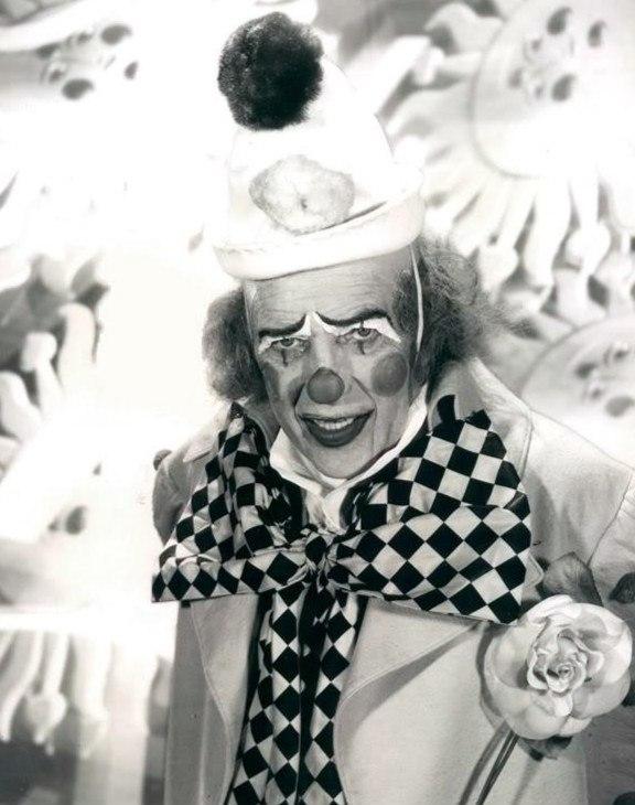 Ed Sullivan as clown 1972