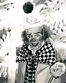 Ed Sullivan as clown 1972.JPG